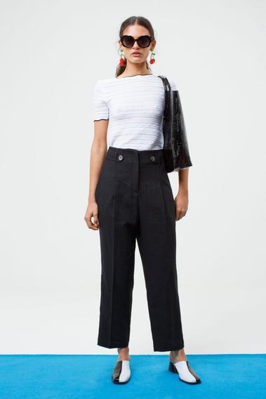 Pantalon Bianca Negro Las Pepas