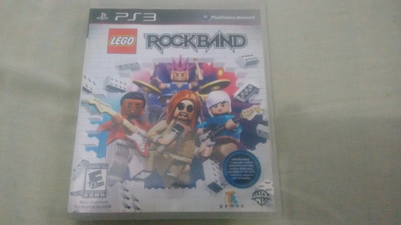 Lego Rock Band - Ps3 - Completo