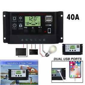 Controlador Pwm 40 A Solar