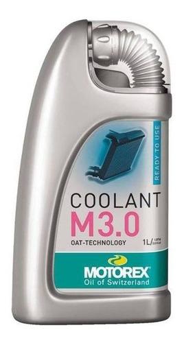 Refrigerante Moto Motorex Coolant M 3.0 1l Solomototeam
