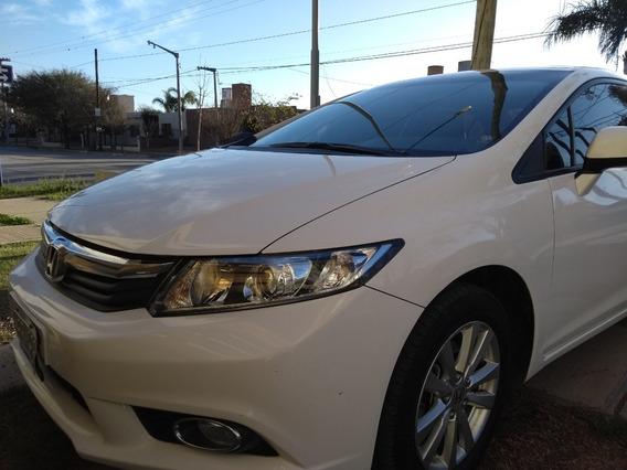 Vendo Honda Civic Lxs 1.8. 2013. 2da Mano.