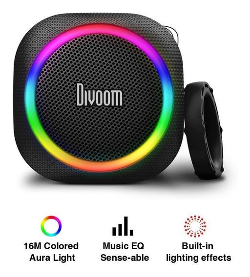 Caixa De Som Bluetooth Divoom Airbeat-30 Ipx44 Leds