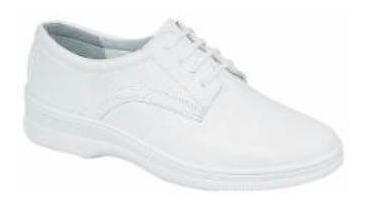 Zapato Flexi Dama Doctor/enfermero Confort 100 % Piel