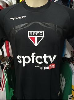 Camisa São Paulo Goleiro Preta 2014 Denis # 12 Spfctv