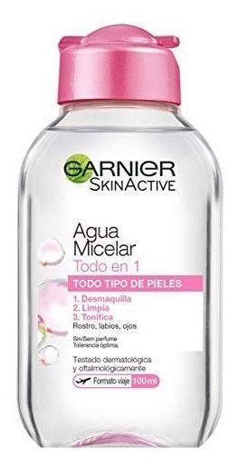 Agua Micelar Garnier Limpiadora Facial 100ml