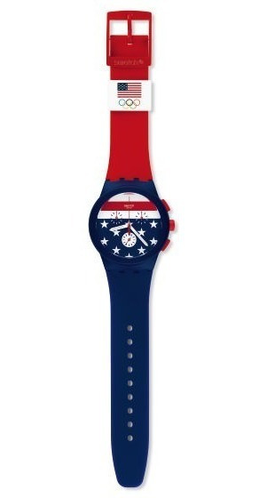 Relógio Swatch Team Usa - Modelo Exclusivo - Original