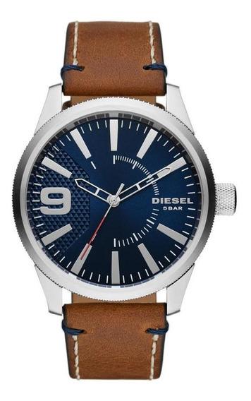 Relógio Masculino Diesel Dz1898/0mn 47mm Couro Marrom