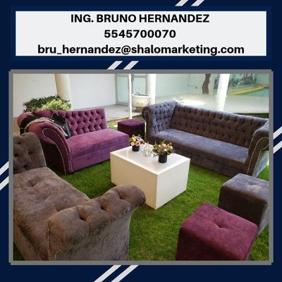 Renta De Periqueras Y Salas Lounge