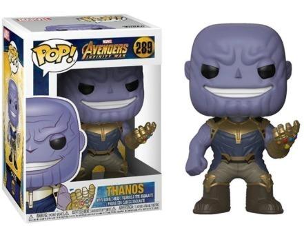 Boneco Funko Pop - Figura De Ação - Thanos - Pronta Entrega