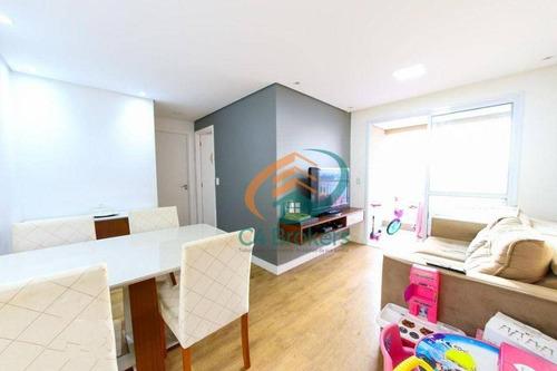 Apartamento Com 2 Dormitórios À Venda, 52 M² Por R$ 385.000,00 - Vila Augusta - Guarulhos/sp - Ap4130