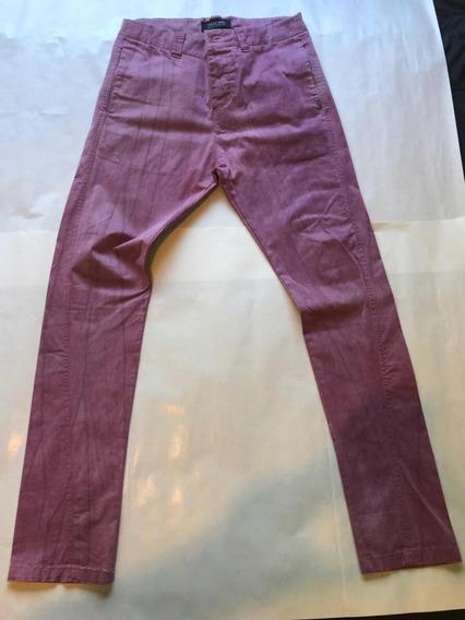 Pantalon De Vestir Tascani Violeta Talle 34 (44)
