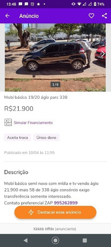 Fiat Mobi Yasy