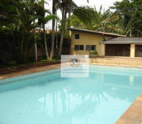 Imagem 1 de 13 de Chácara Com 3 Dormitórios À Venda, 1000 M² Por R$ 750.000,00 - Cidade Universitária - Campinas/sp - Ch0051