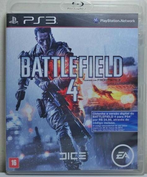Jogo De Ps3 Battlefield 4 Mídia Física Dublado