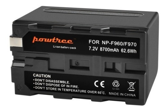 Bateria Np-f970 P Sony P/ Iluminador Led