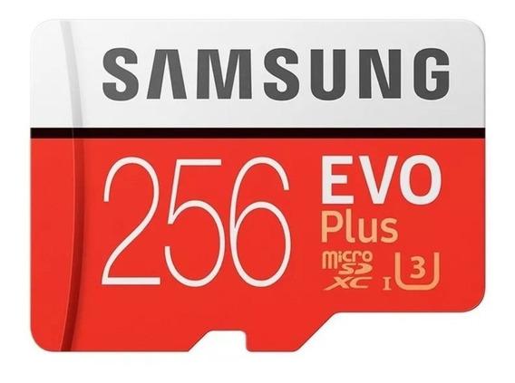 Cartão Micro Sd Samsung Evo Plus 256gb Classe 10 Original