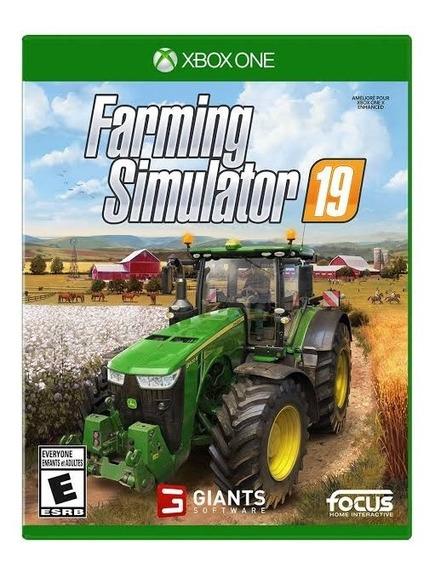 Farming Simulator 19 Mídia Física Raro - Xbox One