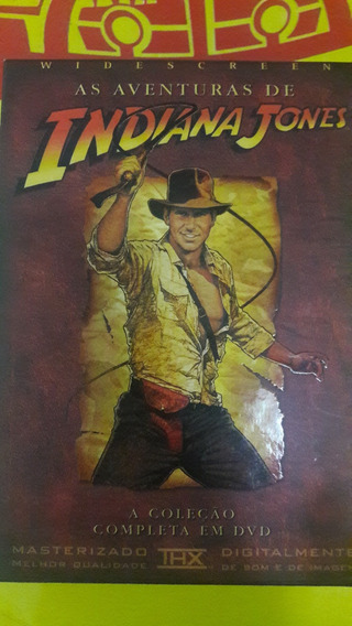 Dvd Trilogia As Aventuras De Indiana Jones - Original