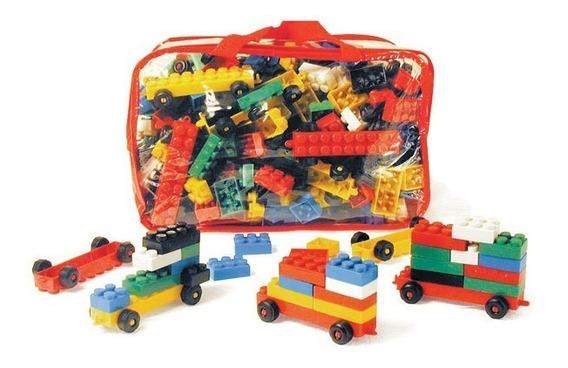 Peças De Montar Tipo Lego Mochila Criativa 400 Peças