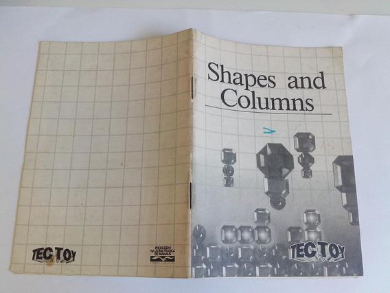 Manual Shapes And Columns - Tectoy - Master S. - Original !
