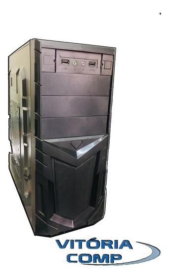 Cpu Gamer Intel Core 2 Duo 4gb Hd 160 + Frete Grátis