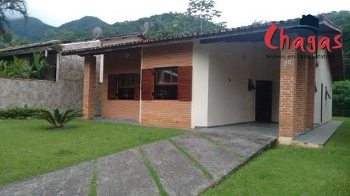 Casa No Park Imperial Condomínio Fechado Em Caraguatatuba. - 1340