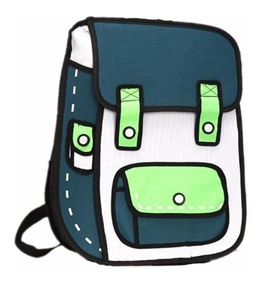 Mochila Backpack 3d Print Anime Bolsa Japonesa Unisex M21