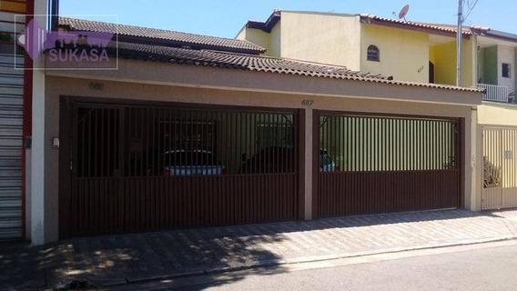 Casa Com 3 Dormitórios À Venda, 326 M² Por R$ 1.500.000 - Parque Das Nações - Santo André/sp - Ca0212