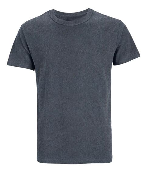 Camiseta Masculina Slim Várias Cores Algodão Lisa Básica