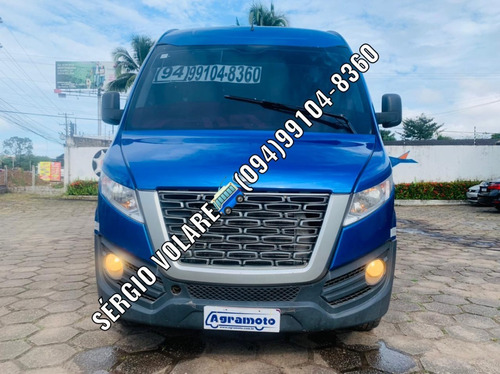 Imagem 1 de 15 de Micro Ônibus Volare Cinco Executivo Cor Azul Ano 2018 2019