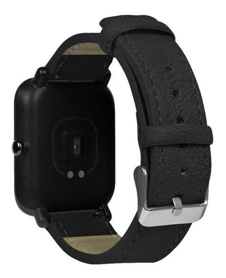 Pulseira De Couro 20mm P/ Relógio E Smartwatch - Frete 24,90