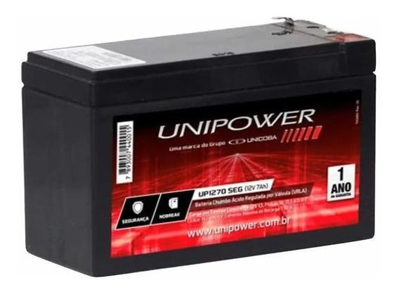 Bateria 12v 7ah Nova - Original P Nobreaks E Alarmes Elétric