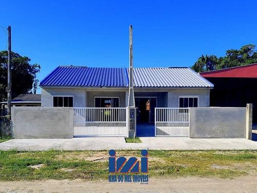 Imagem 1 de 15 de Casa 03 Quartos Em Shangri-lá Pontal Do Paraná - 258sh-1