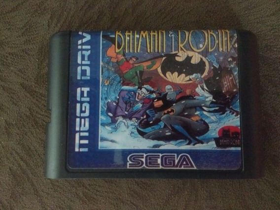 The Adventures Of Batman & Robin - Mega Drive