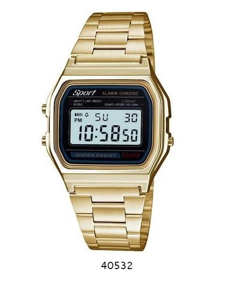 Reloj Dorado Sport Metal