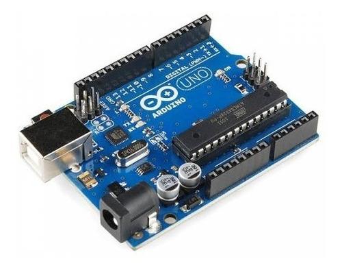 Arduino Uno R3 Cable Usb Neutral Compatible Garantía Ptec