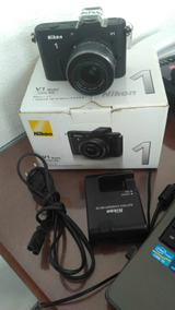 Camera Nikon V1+lente 10-30mm F/3.5-5.6