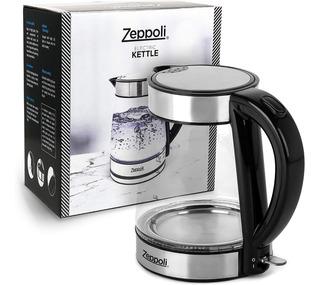 Hervidor De Agua Eléctrico Tetera 1.7 L Fácil Limpiar
