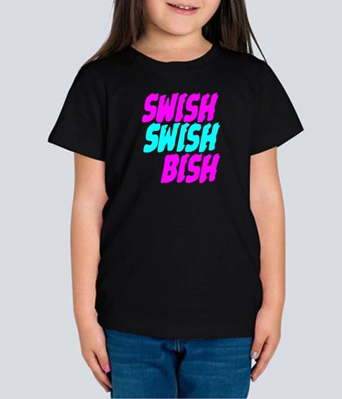 Playera Katy Perry Swish Swish Bish Niña 1 Pza C/envio