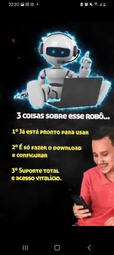 Imagem 1 de 3 de Robô De Vendas