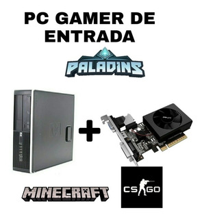 Pc Gamer De Entrada Hp Compaq 8000 Elite Sff + Gt710