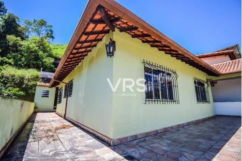 Casa Com 2 Dormitórios À Venda, 185 M² Por R$ 650.000,00 - Vale Do Paraíso - Teresópolis/rj - Ca0335