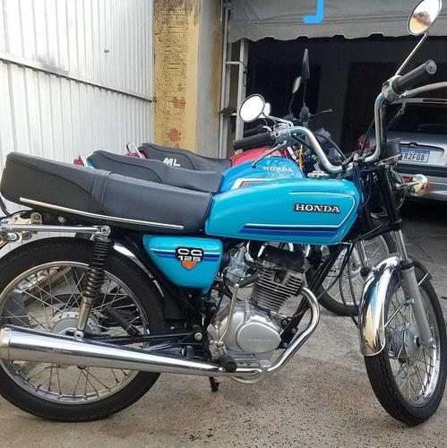 Imagem 1 de 11 de Honda Cg 125 Ano 84. Ml 84 E Bolinha 82