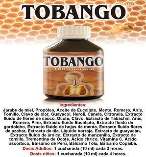 Tobango ( Jarabe Sistema Respiratorio)