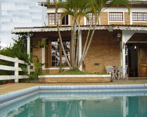 Imagem 1 de 17 de Chácara A Venda Em Atibaia, Jardim Estancia Brasil,  No Asfalto, Fácil Acesso... - Ch03478 - 32662360