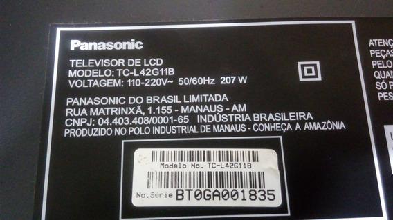 Placa Conectoras Das Lampadas Tv Panasonic Tc-l42g11b Par
