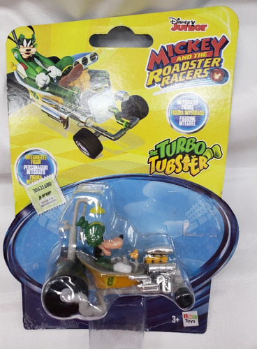 Mickey Roadster Racer Goofy Turbo Tubster Imc Toys. Replay