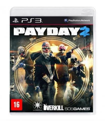Jogo Ps3 Payday 2 Mídia Física Lacrado Playstation 3