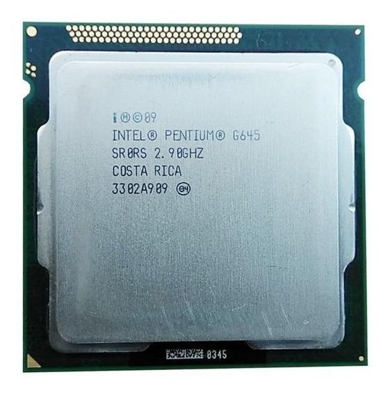 Processador Intel Lga 1155 Dual Core G645 2.90ghz 2ª Geração