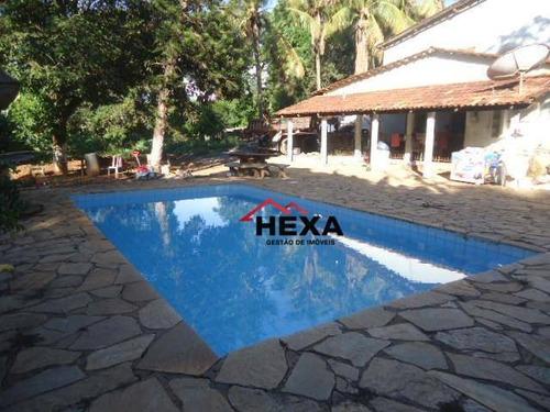 Chácara Com 4 Quartos Sendo 1 Suite À Venda, 5000 M², Parque Veiga Jardim, Aparecida De Goiânia, Goiás - Ch0018